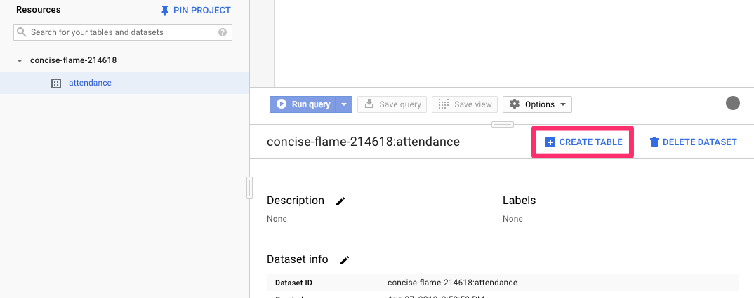 How to create a BigQuery sync job – Help Center